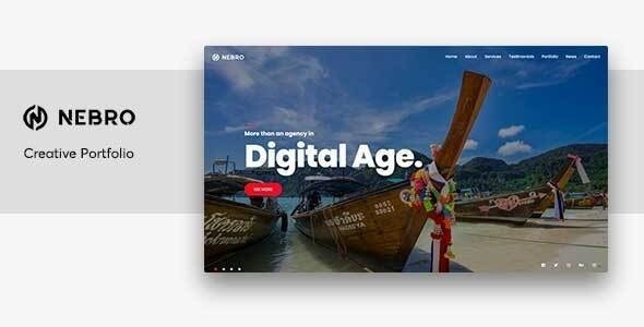 Nebro - Digital & Marketing OnePage Joomla Template - Marketing Corporate