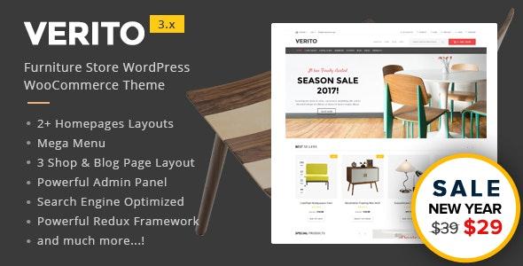 Verito - Furniture Store WooCommerce WordPress Theme - WooCommerce eCommerce