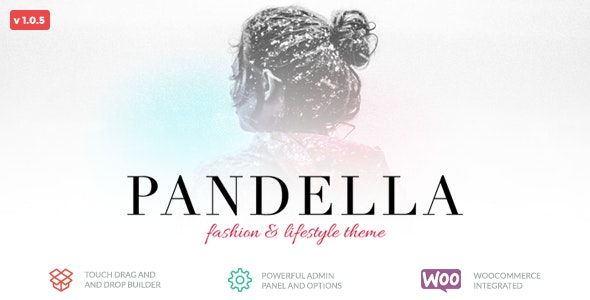 Pandella - Fashion & Lifestyle Blog Theme - Blog / Magazine WordPress