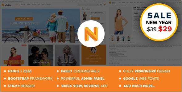 Nexon Apparel Store Shopify Theme & Template - Shopify eCommerce