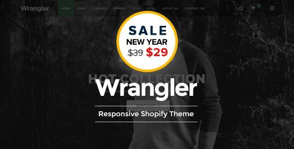 Wrangler Fashion Store Shopify Theme & Template - Shopping Shopify