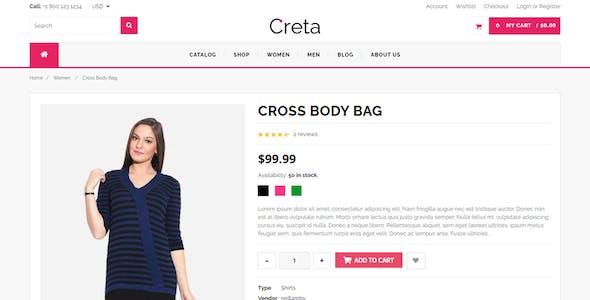 Creta - MultiPurpose Shopify Theme & Template
