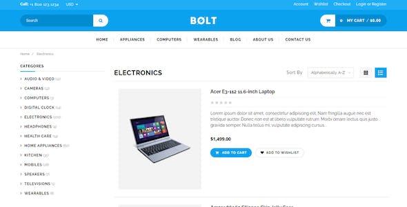 Bolt - Electronics Store Shopify Theme & Template