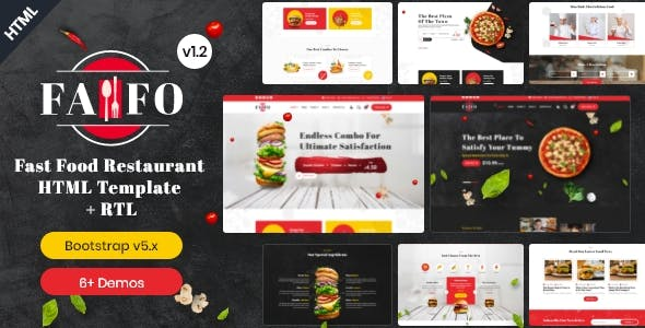 Fafo - Fast Food & Restaurant HTML Template