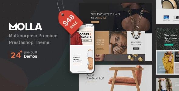 Molla | Multi-Purpose Prestashop Theme - PrestaShop eCommerce