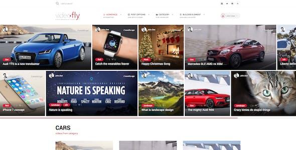 Videofly - Video Sharing & Portal Theme