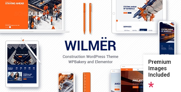 Wilmër - Construction Theme - Business Corporate