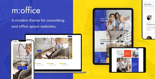 MultiOffice - Coworking Space Theme - Business Corporate