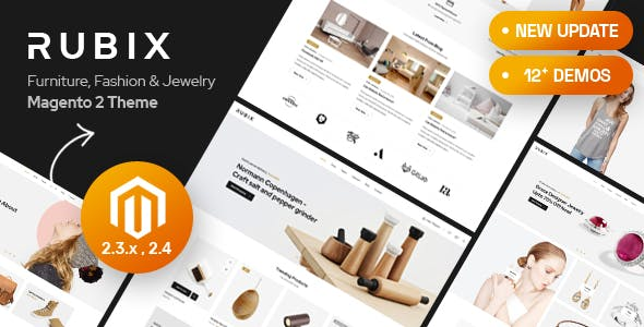 Rubix - Multipurpose Sections Magento 2 Theme