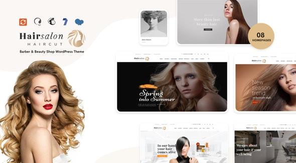 Hair Salon - Barber & Beauty Shop WordPress Theme - Health & Beauty Retail