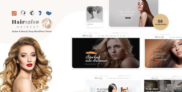 Hair Salon - Barber & Beauty Shop WordPress Theme