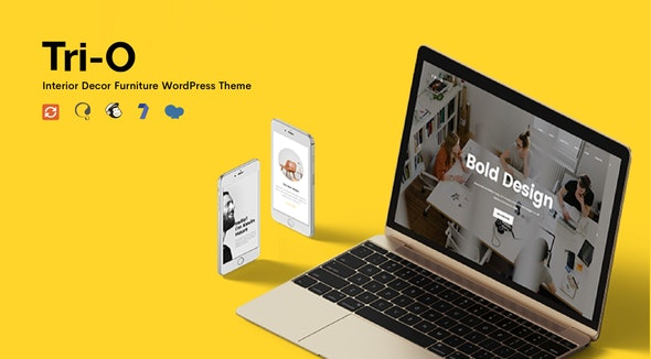 TriO - Interior Decor Furniture Shop WordPress Theme - Creative WordPress