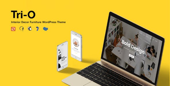 TriO - Interior Decor Furniture Shop WordPress Theme