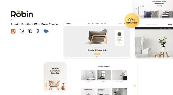 Robin - Furniture Shop WooCommerce WordPress Theme - WooCommerce eCommerce
