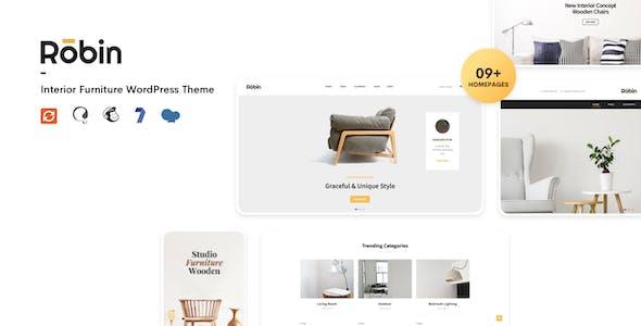 Robin - Furniture Shop WooCommerce WordPress Theme