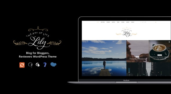 Lily - Blog for Bloggers, Reviewers WordPress Theme - Personal Blog / Magazine