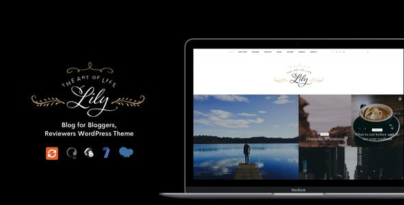 Lily - Blog for Bloggers, Reviewers WordPress Theme
