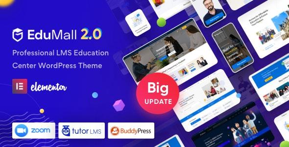 EduMall v2.8.7 – Professional LMS Education Center WordPress Theme