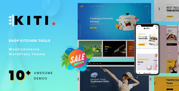 Kiti – Kitchen WooCommerce WordPress Theme - WooCommerce eCommerce