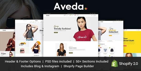 Aveda - Ultimate Shopify Theme - Fashion Shopify