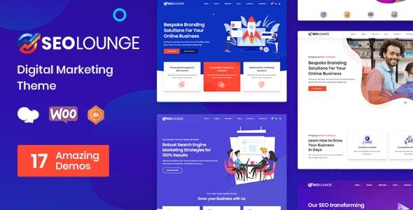 SEO Lounge - Digital Marketing Theme - Marketing Corporate