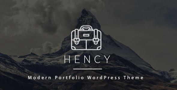 Hency - Photography and Portfolio WordPress Theme - Portfolio Creative