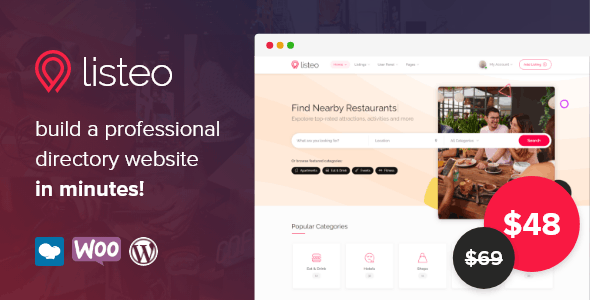 Listeo - Directory & Listings With Booking - WordPress Theme - Directory & Listings Corporate