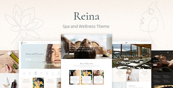 Reina - Spa and Wellness Theme