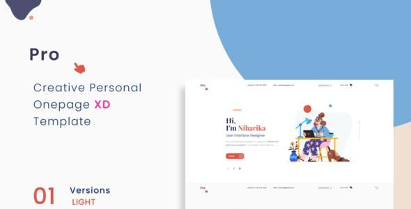 Prokit - Personal Portfolio Elementor Template Kit