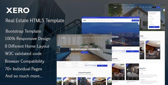 Xero - Real Estate HTML Template