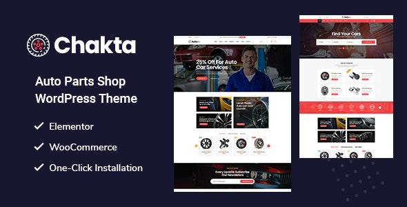 Chakta - Auto Parts Shop WooCommerce Theme - WooCommerce eCommerce