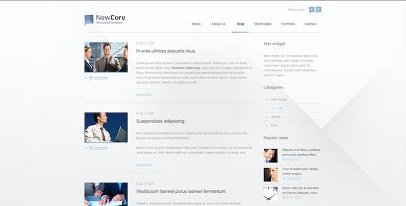 Site Template NewCore