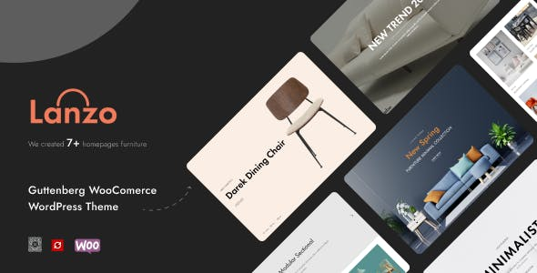 Lanzo - Gutenberg WooCommerce WordPress Theme