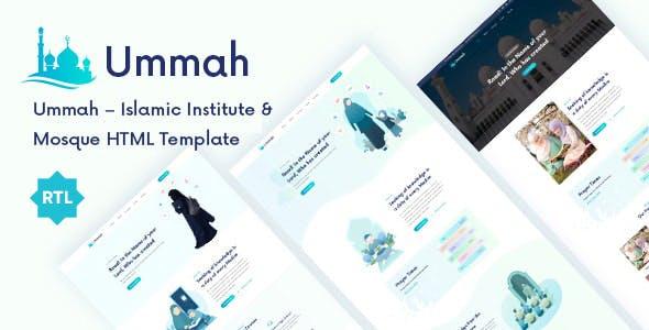 Ummah - Islamic Center HTML5 Template