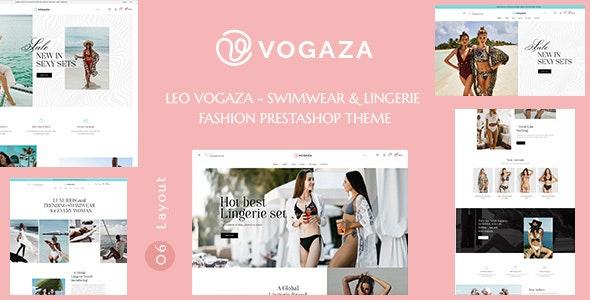 Leo Vogaza - Swimwear & Lingerie Fashion Prestashop Theme - PrestaShop eCommerce