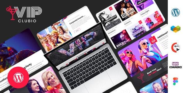 Clubio - Night Club WordPress Theme - Nightlife Entertainment