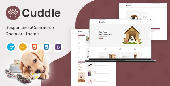 Cuddle - Responsive OpenCart Theme - OpenCart eCommerce