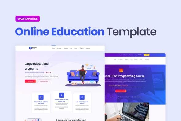 Edison – Online Education Elementor Template Kit - Education Elementor