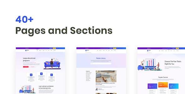 Edison – Online Education Elementor Template Kit