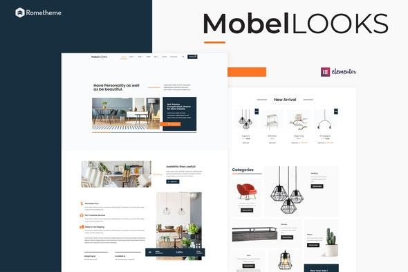 Mobel Looks - Furniture Store WooCommerce Elementor Template Kit - Shopping & eCommerce Elementor