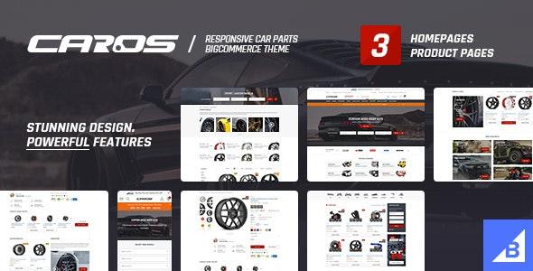 CAROS – Cars & Auto Parts Automotive BigCommerce Theme (Stencil Ready) - BigCommerce eCommerce