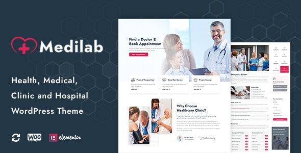 Medilab - Health & Medical WordPress Theme - Health & Beauty Retail