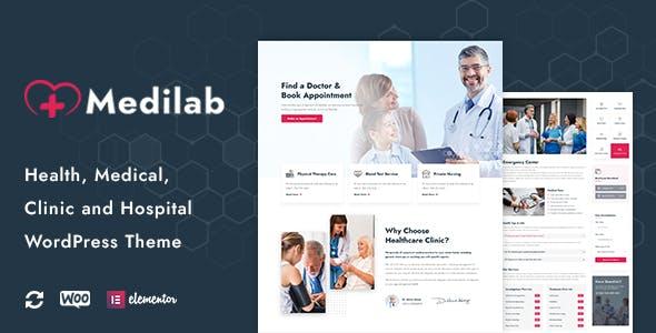 Medilab - Health & Medical WordPress Theme