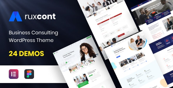 Aruxcont - Business Consulting WordPress Theme - Business Corporate