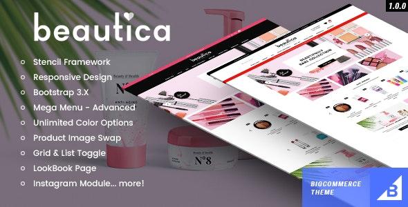 Beautica - Premium Responsive Bigcommerce Template - BigCommerce eCommerce