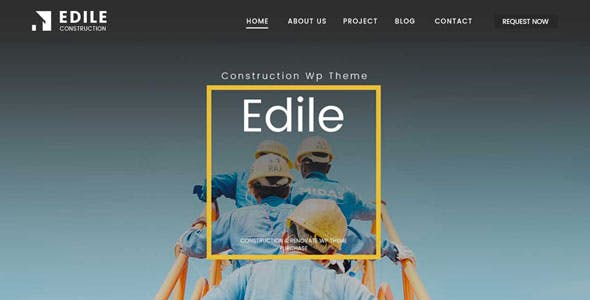 Edile - Construction WordPress