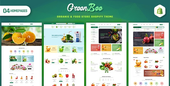 GreenBee - Vegetable and Fruit Shop Shopify Theme - Shopping Shopify