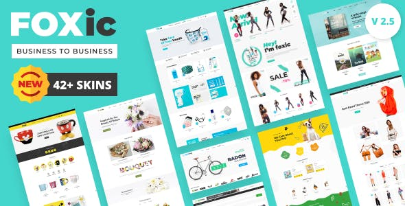 Foxic - Modern and Clean, Multipurpose Shopify Theme