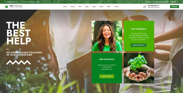 Ngo - Charity & Donation WordPress