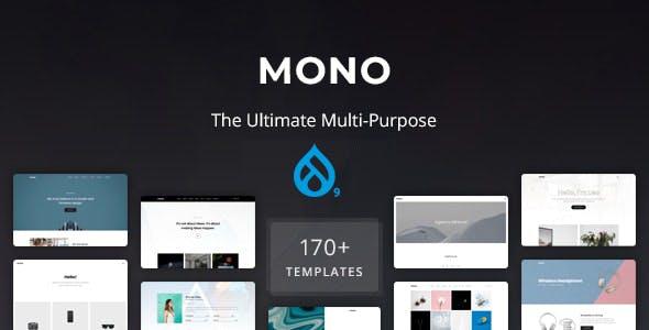 Mono - Multi-Purpose Drupal 9.1 Theme